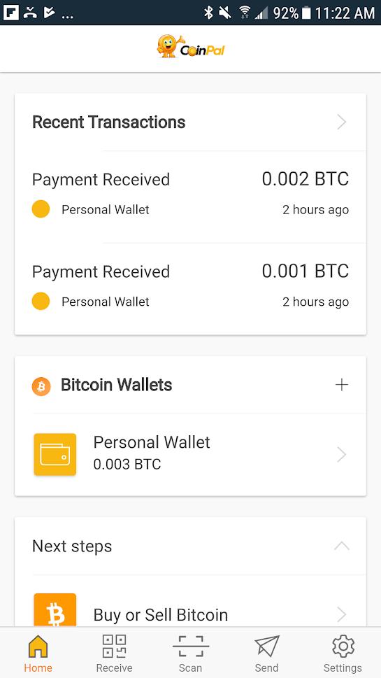 Coinpal wallet 2