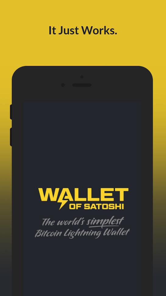 Wallet of Satoshi 1